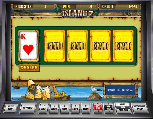 игровой автомат island II