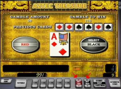 Aztec Treasure онлайн автомат