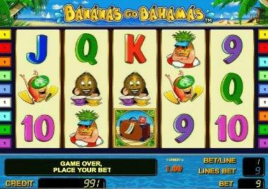 игровой автомат Бананы