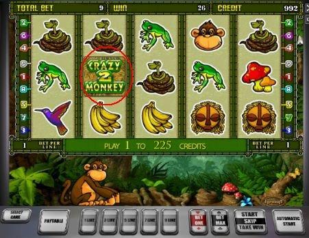 игровой автомат Сумасшедшая обезьяна 2