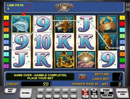 dolphins pearl игровой автомат онлайн