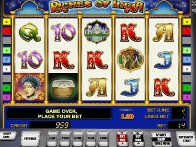 Игровой автомат Богатство Индии