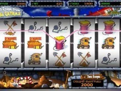 Alcatraz игровой онлайн слот