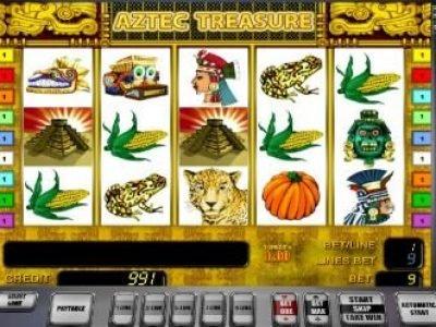 Игровой слот Aztec Treasure
