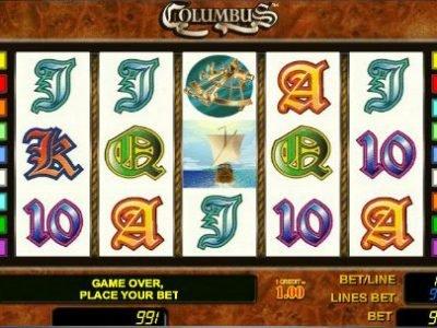 columbus игровой онлайн слот