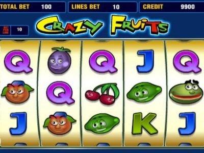 игровые автоматы Сумасшедшие фрукты