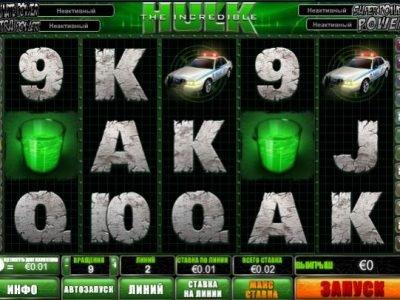 hulk игровой автомат