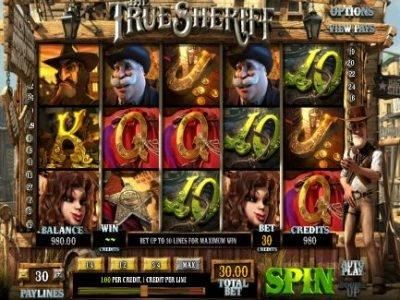игровой автомат The True Sheriff
