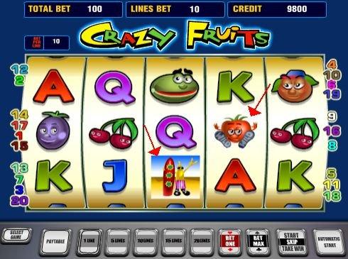 игровые автоматы Crazy Fruits
