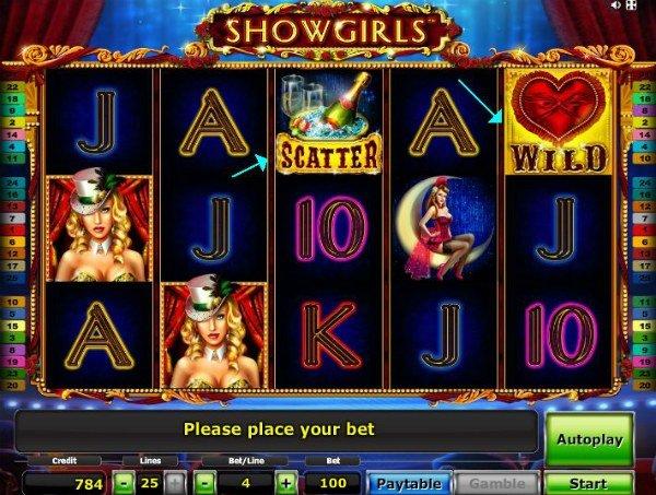 Игровой слот Show Girls