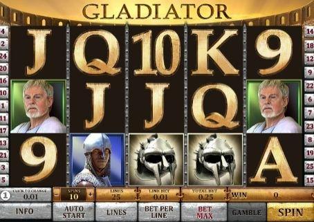 игровой автомат Гладиатор