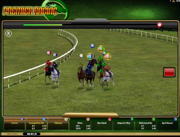 игровой автомат Premier Racing
