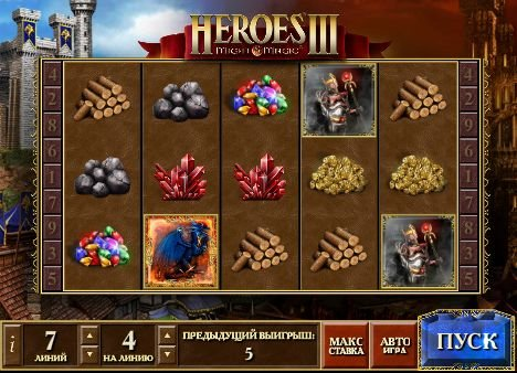 Игровой автомат Heroes 3