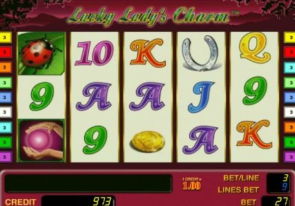 игровой автомат леди шарм