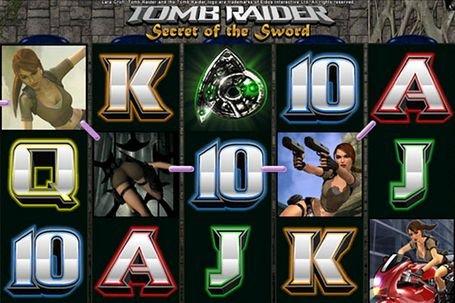 Игровой автомат TombRaiderII