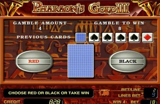 игровой автомат  Золото Фараона 3