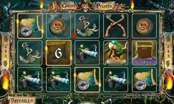 игровой онлайн слот Везучие пираты
