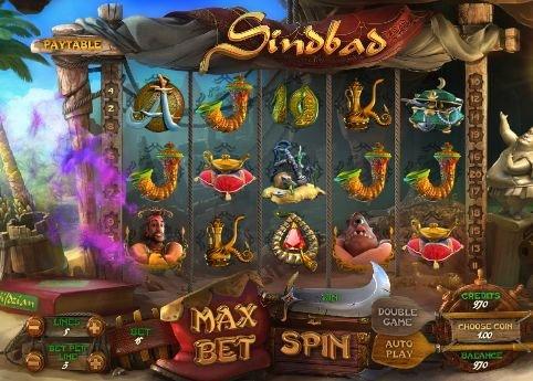 Игровой автомат Синдбад