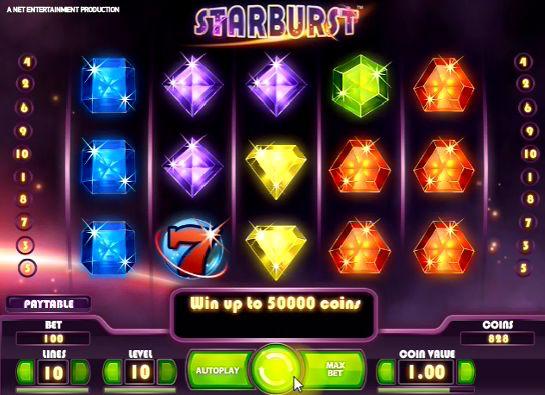 игровой автомат Взрывающаяся звезда