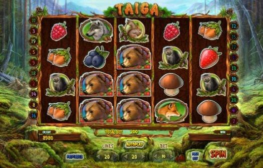 Игровой автомат онлайн Тайга