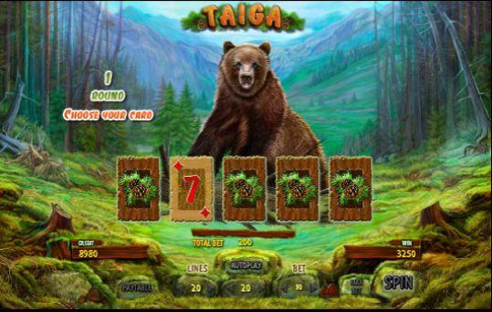 taiga игровой автомат онлайн