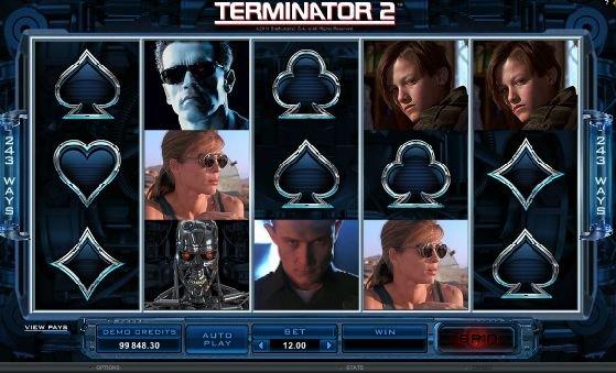 игровой онлайн слот terminator 2