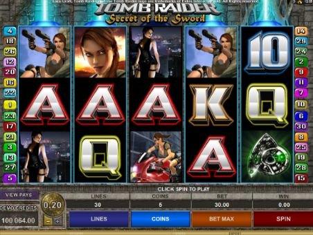 игровой слот tomb raider 2